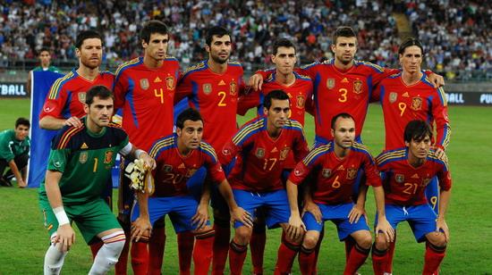 2012欧洲杯十六强大阅兵 首发阵容全接触-中国